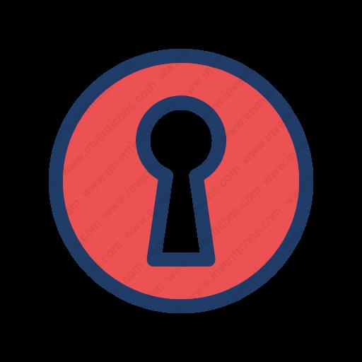 Download Access,door,key,open Icon Inventicons