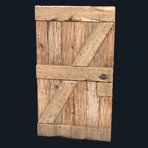 Wooden Door Rust Wiki Fandom Powered