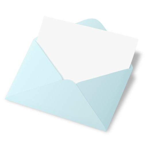 Breeze Open Mail Icon