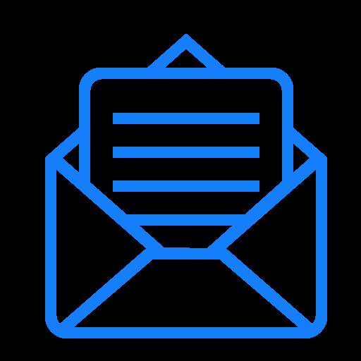 Open, Envelope, Mail Icon