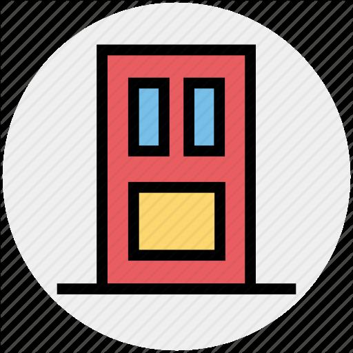 Close, Closed, Door, Exit, House Door, Open Door, Wooden Door Icon