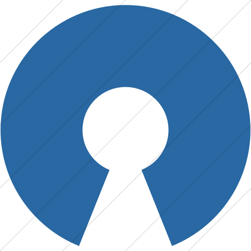 Simple Blue Raphael Opensource Icon
