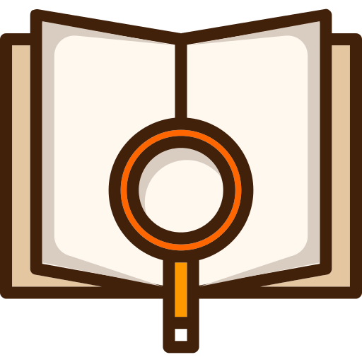 Open Book Research Png Icon
