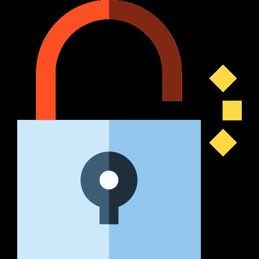 Open Padlock Unlock Png Icon