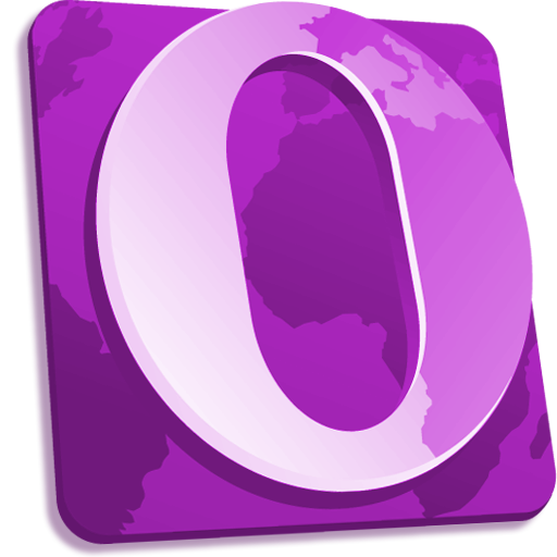 Purple Opera Icon
