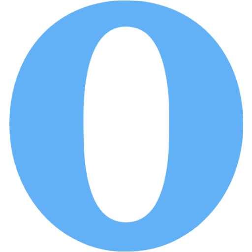 Tropical Blue Opera Icon