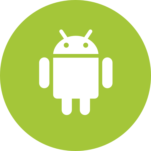 Android, Circle, Operating System, Os, Round Icon Icon