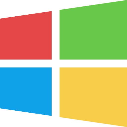 Operating System, Windows Icon