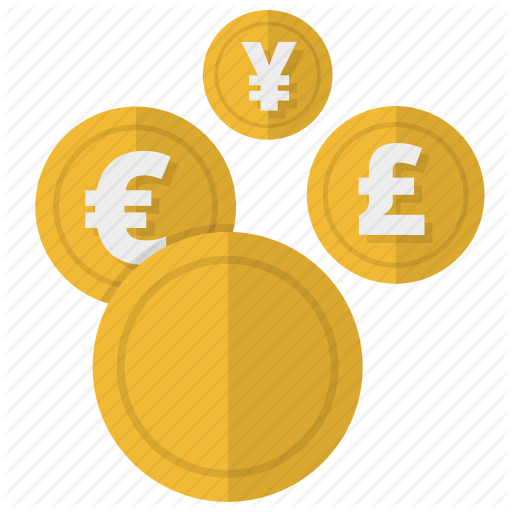 Banking, Coins, Conversion, Currency, Money Operations Icon