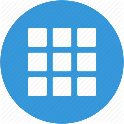 Applications, Apps, Grid, Interface, Menu, Options Icon