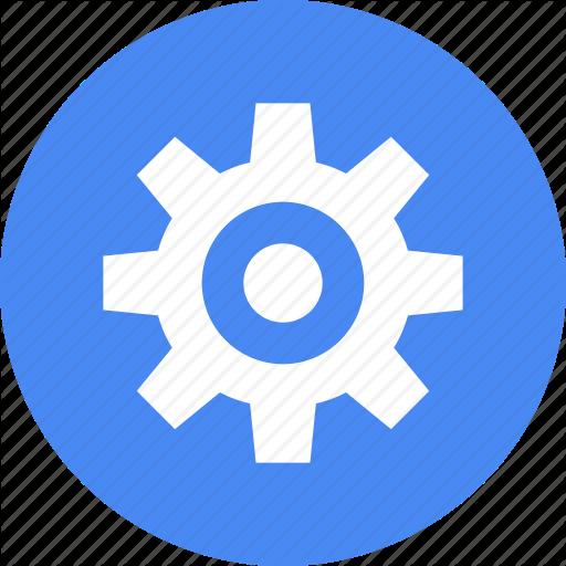 Gear, Materialdesign, Menu, Option, Options, Setting, Settings Icon