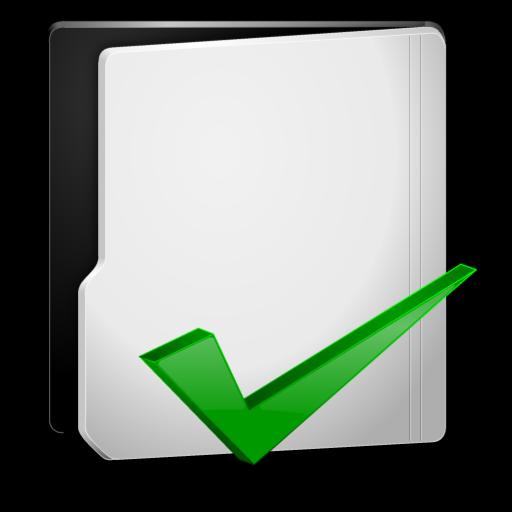 Grey Folder Options Icon