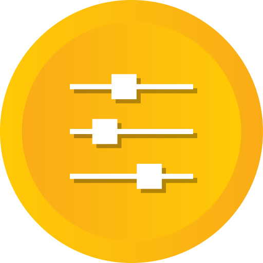 Control, Options, Preferences, Properties, Settings Icon Free