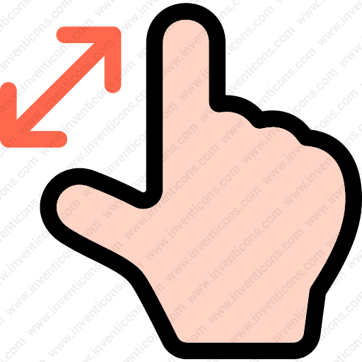 Download Zoom,finger,multimedia,options,gesture,hand Icon