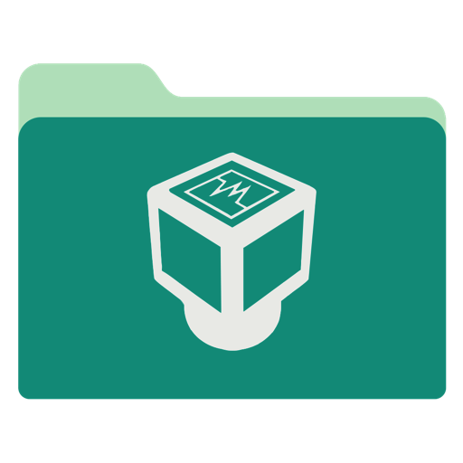 Virtualbox Icon Green Tropical Waters Folders Iconset Janosch
