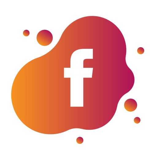Aquarelle, Bubble, Facebook, Gradient, Liquid, Pink, Watercolour