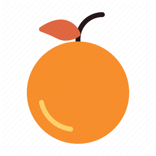 Autumn, Fall, Fruit, Orange Icon