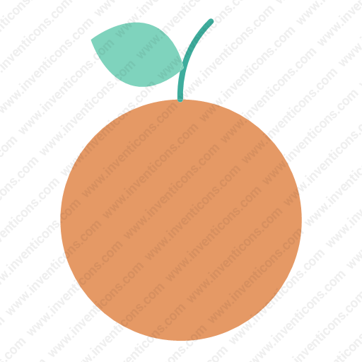 Download Fruit,orange Icon Inventicons
