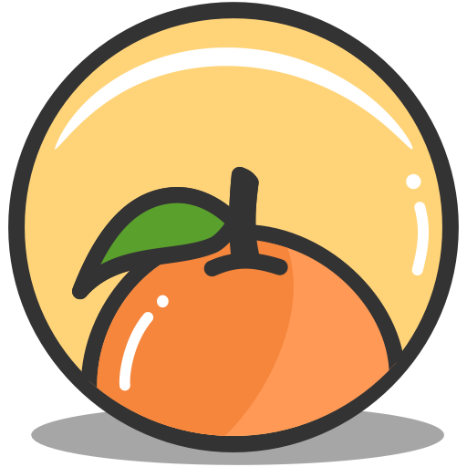 Orange, Food, Vitamin C, Citric, Citrus, Fruit Icon