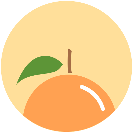 Orange, Fruit Icon Free Of Minimal Fruit Icons