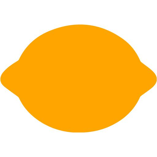 Orange Lemon Icon