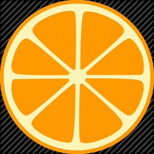 Citrus, Fruit, Mandarin, Orange, Slice, Split, Whole Icon