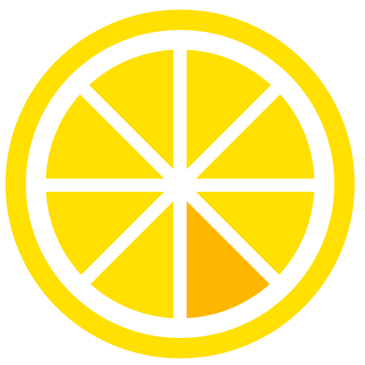Lemon Or, Lemon, Lemon Slice Icon With Png And Vector Format