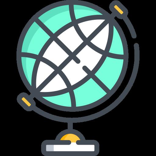 Globe, Balloon, Air Balloon, Lob, Orb Icon Free Of Travel
