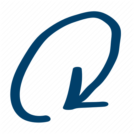 Circular, Clockwise, Orbit Icon