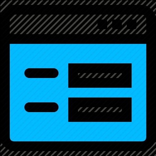 Application, Form, Survey, Window Icon