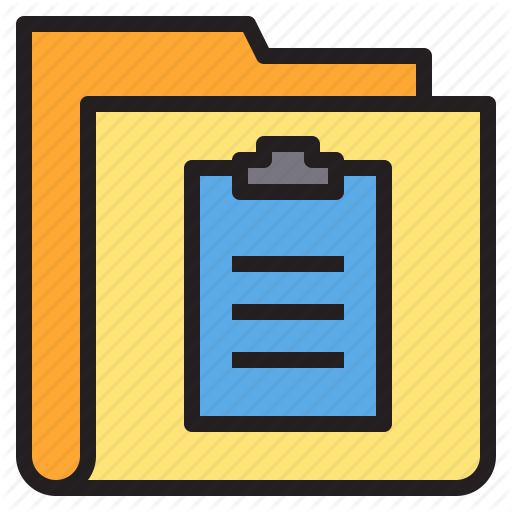 Folder, Form, Interface, Order Icon