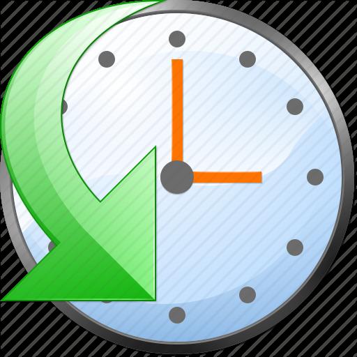 Calendar, Clock, Event, History, Schedule, Time, Undo Icon