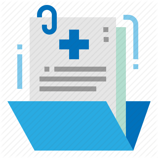 Case, File, Folder, History, Medical Icon