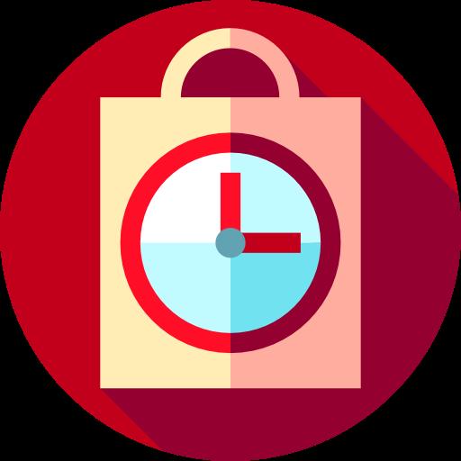 Shopping Bag, History, Clock, Paper Bag, Order, Commerce