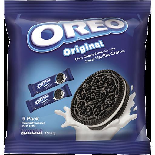 Kraft Biscuits Oreo Cream Original Grab N Go Pack