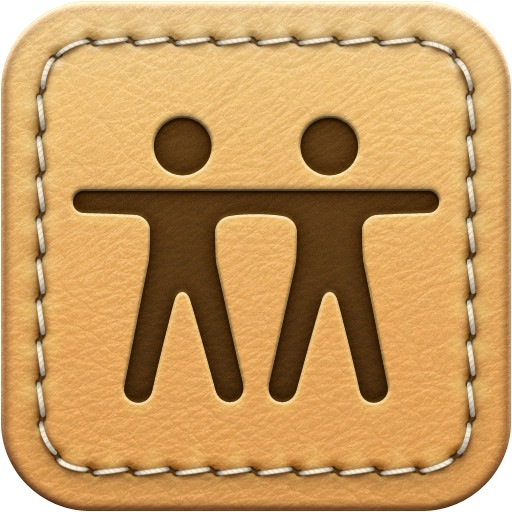 Find My Friends' Original Skeuomorphic Icon The Mac Security Blog