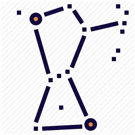 Belt, Constellation, Orion, Sky, Space, Star Icon