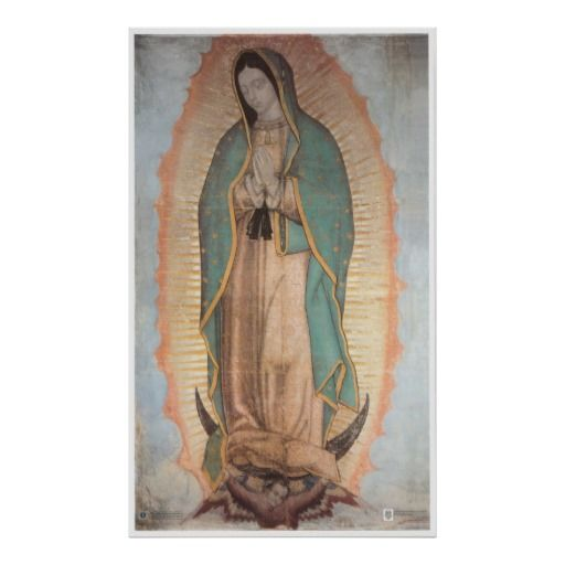 Our Lady Of Guadalupe Authentic Icon Replication Wall Art