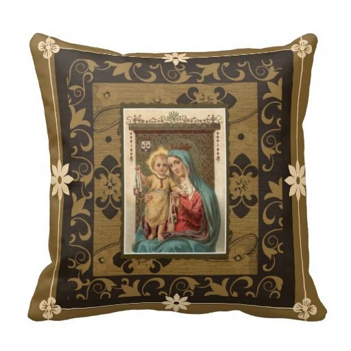 Our Lady Of Mount Carmel With Baby Jesus Scapular Inspirational