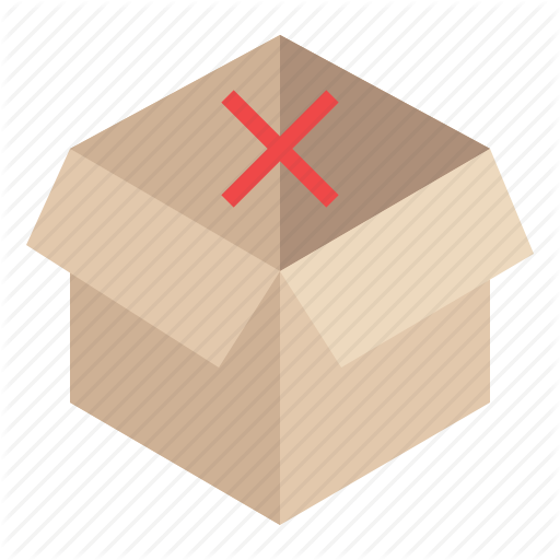Box, Cart, Ecommerce, Empty, Out Of Stock, Shopping, Stock Icon