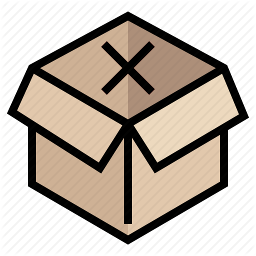 Box, Empty, Out Of Stock, Product, Shopping, Stock, Store Icon