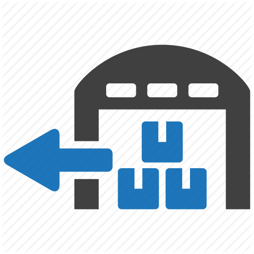 Delivery, Out, Package, Parcel, Shipping, Stock, Warehouse Icon