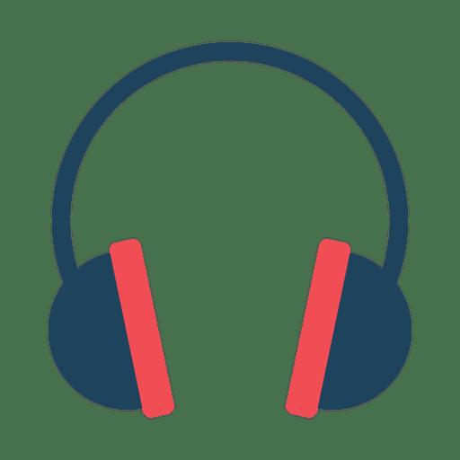 Flat Headphone Icon