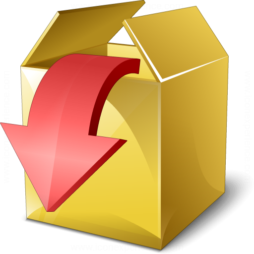 Iconexperience V Collection Box Out Icon