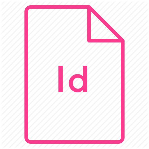 Adobe, Cc, Coloured, File, Indesign, Outline Icon