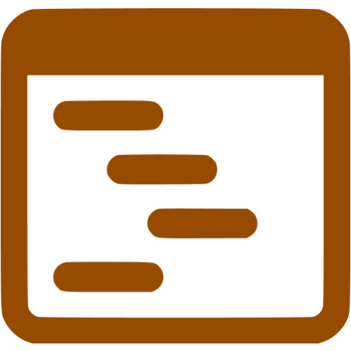 Brown Outline Icon