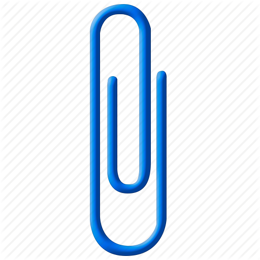 Clip Icon Attachment Outlook Transparent Png Clipart Free