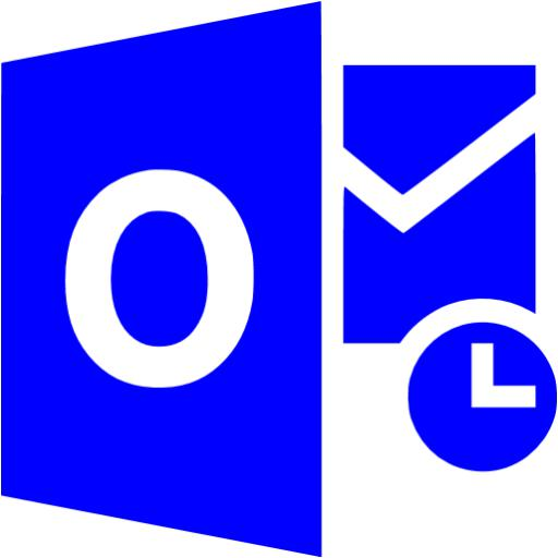Blue Outlook Icon