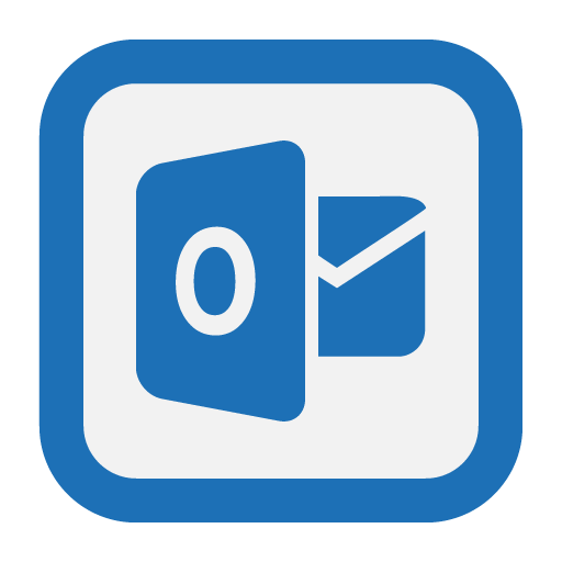 Outline, Outlook, Web Icon