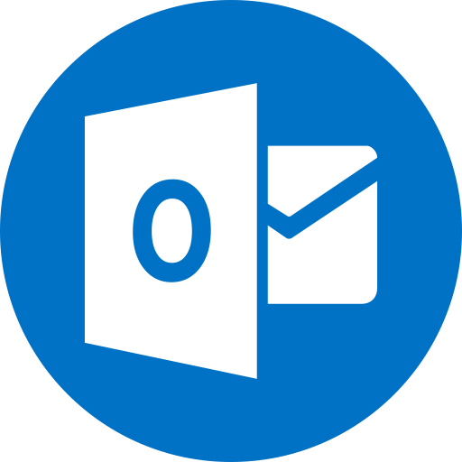 Outlook Flat Icon